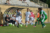Kaposvar - Paks under 19 soccer game — Foto Stock