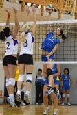 Hungarian junior volleyball champinship — Stock Photo