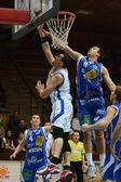 Kaposvár - fehervar gra w koszykówkę — Zdjęcie stockowe