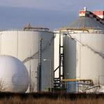 Biogas plant — Stock Photo #11616706