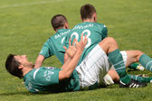 Kaposvar - Diosgyor soccer game — Stock Photo