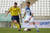 Brescia Academy (ITA) - SYFA West Region under 17 soccer game — Zdjęcie stockowe