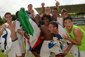Brescia Academy (ITA) - SYFA West Region under 17 soccer game — Stock Photo