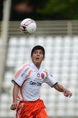 Pozo Almonte (CHI) - FC Makedonija (MKD) under 16 soccer game — Stock Photo