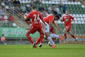 Kaposvar - gioco di calcio di debrecen — Foto Stock