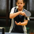 Kaposvar - Beremend table tennis game — Foto Stock