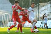 Kaposvar - Debrecen soccer game — Stock Photo