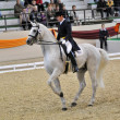 Dressage World Cup Competition — Stock Photo