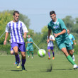 Kaposvar - Ujpest under 18 soccer game — Stock Photo
