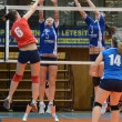 Kaposvar - Budai XI volleyball game — Stock Photo #12275568