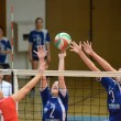 Kaposvar - Budai XI volleyball game — Stock Photo #12275756