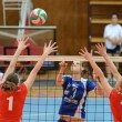 Kaposvar - Budai XI volleyball game — Stock Photo #12276026