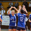 Kaposvar - Budai XI volleyball game — Stock Photo #12276231