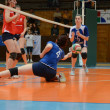 Kaposvar - Budai XI volleyball game — Stock Photo #12304577