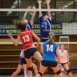 Kaposvar - Budai XI volleyball game — Stock Photo