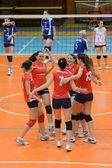Kaposvar - juego de voleibol budai xi — Foto de Stock