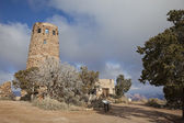 Desert View Watchtower at Grand Canyon — Stock Photo