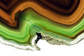 An Agate Gemstone — Stock Photo