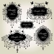 Set of luxury frames — Stock Vector #10813728