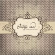 Luxury vintage frame template 03 — Stockvectorbeeld