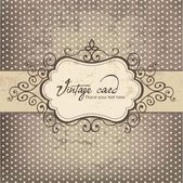 Luxury vintage frame template 03 — ストックベクタ