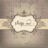Luxus vintage frame vorlage 03 — Stockvektor