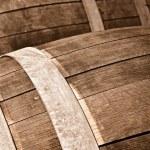 Oak Wine Barrel Close Up — Stock Photo #11034798