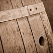Wine Barrel in Cellar — Stock Photo #11036282