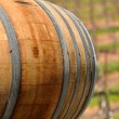 Wine Barrel in Napa Vineyard — Stock Photo #11036369
