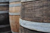 Oak Wine Barrel — Stock Photo