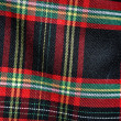 Plaid Scottish Kilt — Stock Photo