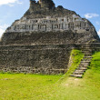 Mayan Ruin - Xunantunich in Belize - Stock Photo