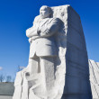 Martin Luther King Memorial Statue in Washington DC — Stock Photo