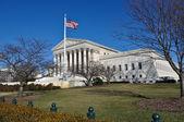 Högsta domstolen byggnad i washington dc — Stockfoto