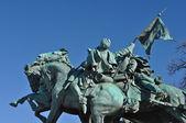 Civil War Soldier Statue in Washington DC — Stock Photo