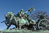 Socha občanská válka ve washingtonu dc — Stock fotografie