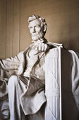 Lincoln Memorial in Washington DC — Foto de Stock