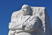 Martin Luther King Statue Monument in Washington DC — Stock Photo