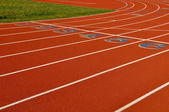 Running Track Background — Stock Photo