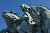 Civil War Horse Statue in Washington DC — Stock Photo