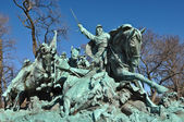 Civil War Statue in Washington DC — Zdjęcie stockowe