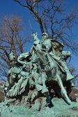 Civil War Statue in Washington DC — Stock Photo