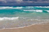 Beautiful Cancun Beach — 图库照片