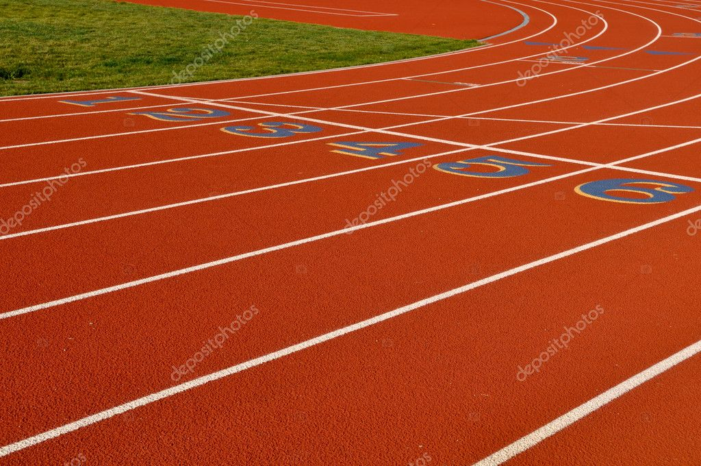 Nike track and field background
