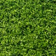 Fake Grass used on sports fields for soccer, baseball, golf and — Stock Photo