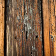 Burned Wood Background - Stock Photo