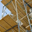 Construction Scaffolding — Stockfoto
