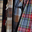 Kilt Skirts Plaid with Multiple Colors — Stock Photo