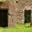 Old Brick Ghost Town Doors with Secret Passage — Stock Photo #11080412