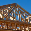 New Home Under Construction — Stock Photo #11081566